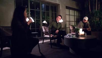 「玉河夜话」第十期现场 | 艺术能量:崔健与沈伟